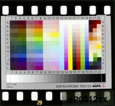 Agfa Agfachrome RSX 100 IT8.7/1-1993 1998:02 aP0312xx