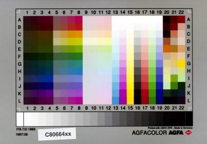Agfa Agfacolor IT8.7/2-1993 1997:06 C80664xx