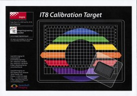 LaserSoft Imaging IT8 Calibration Target envelope only