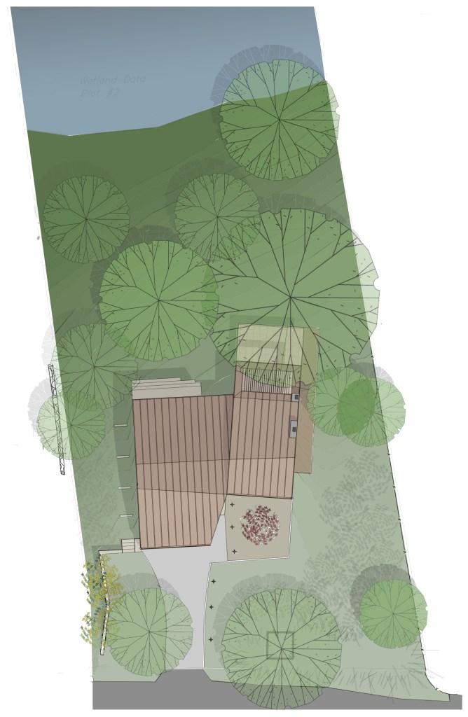 Lakehouse site plan