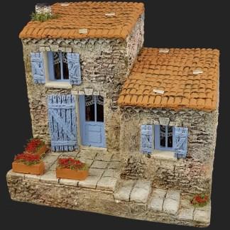 décors de crèche – Santons – maison de village 4 – Aubagne.jpg