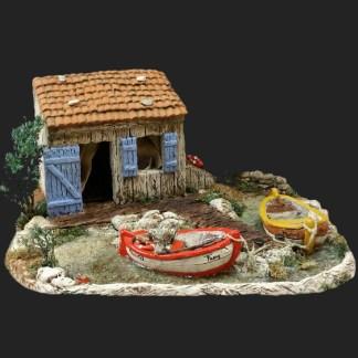Atelier de Fanny cabanon de Fanny décors de crèche
