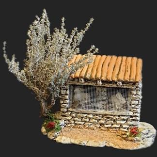 Maison de village 3 clapier de provence- Atelier de Fanny – Santon – Santons – Décors de crèche – Aubagne – Provence – Crèche de Provence – Santon de provence.jpg