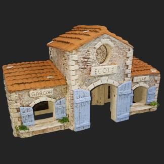 Ecole de Provence - décors de crèche