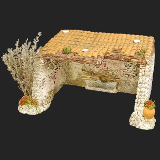décors de crèche – Santons – étable 1 – Aubagne.jpg