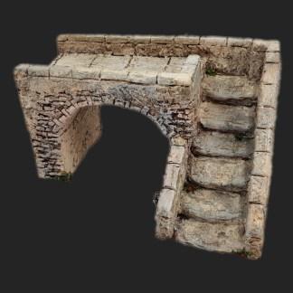 Maison de village pont des amoureux 2 – Atelier de Fanny – Santon – Santons – Décors de crèche – Aubagne – Provence – Crèche de Provence – Santon de provence.jpg