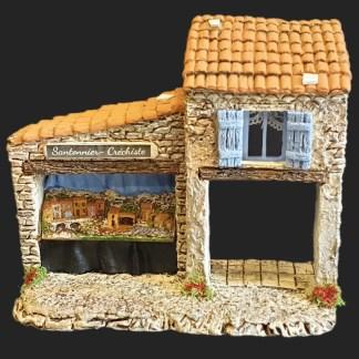 Atelier de fanny – santon – décors de crèche – santon de Provence – santon d'aubagne – aubagne – provence – région – made in france – l'artisanat- santonnier Créchiste