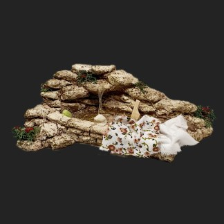 lier de Fanny – Aubagne -provence – santon de provence -santon – décors de provence – décors de crèche – crèches de Provence- accessoire de Provence -artisan – made in france – lavoir de provenve