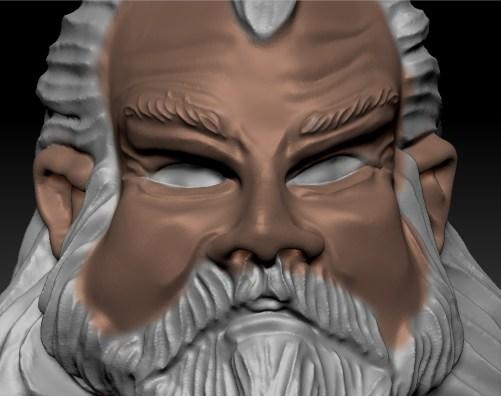 comment peindre les yeux d'une figurine warhammer