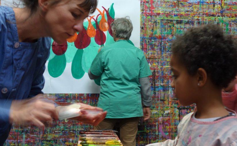 Une nouvelle formation à Marseille : Le Jeu de peindre, comprendre et pratiquer