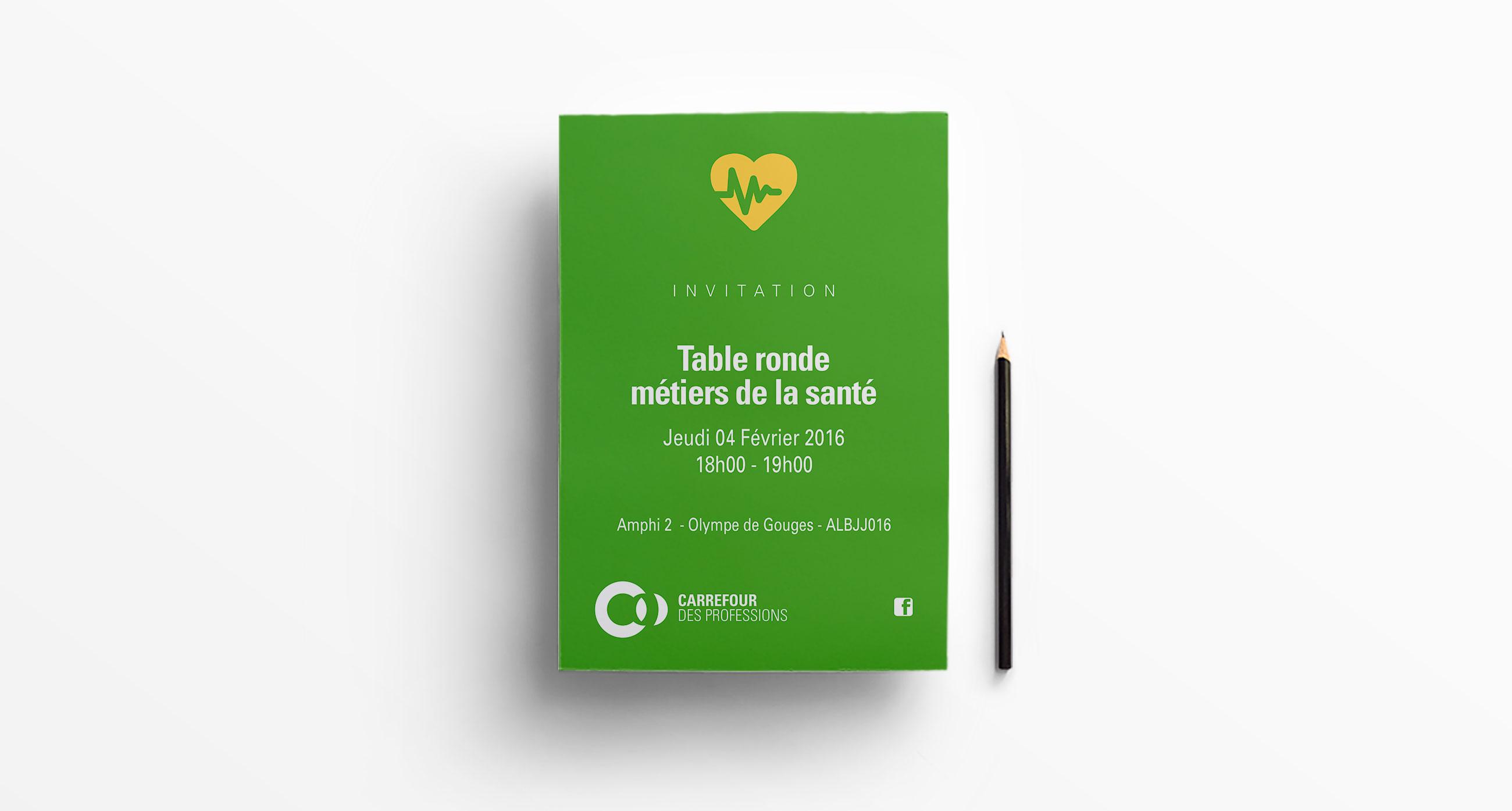 Flyer thématique Carrefour des Professions