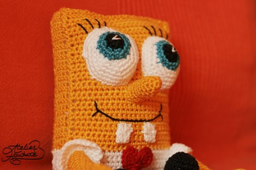 amigurumi spongebob squarepants