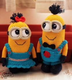 crochet minions