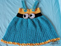 minion-dress-crochet