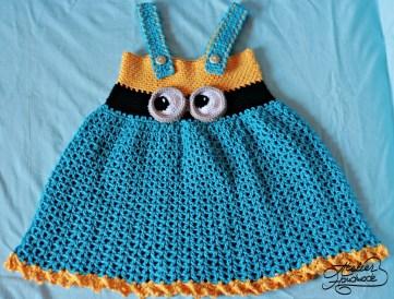 minion-dress-crochet