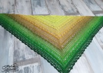 crochet shawl lost in time