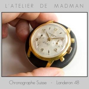 Voilà : il ne manque qu'un joli petit bracelet que j'irai acheter demain. La montre tourne bien, tient l'heure et ça fait du bien !