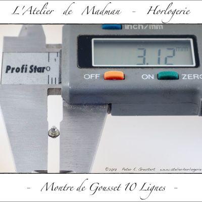 Diamètre de la bonde.