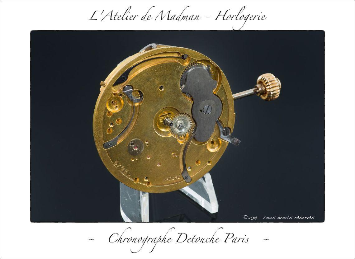 Chronographe Detouche