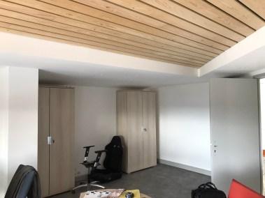 Projet S : un bureau en cours d'aménagement