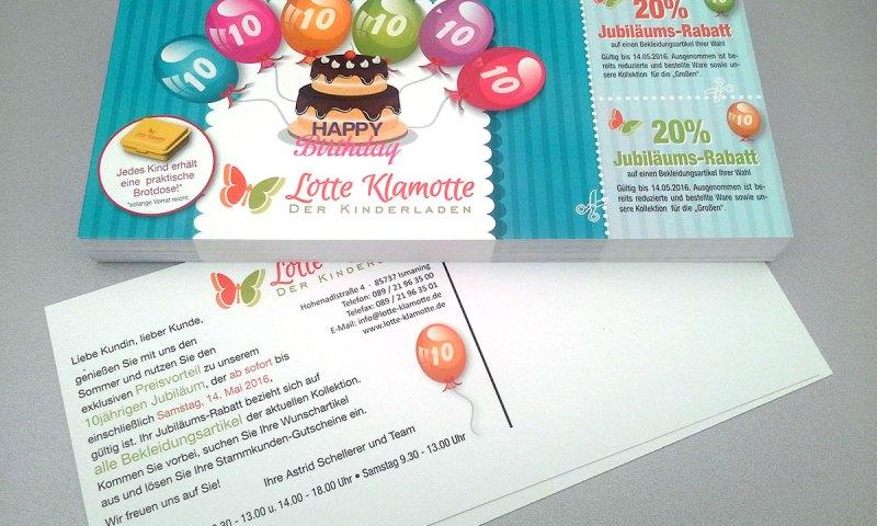 10 Jahre Lotte Klamotte