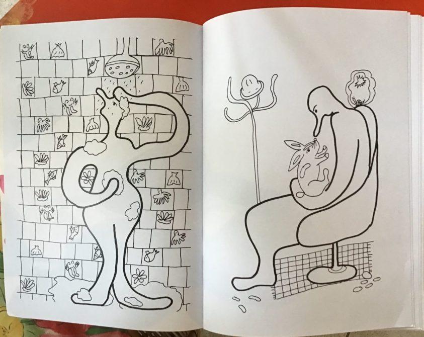 coloriage Sarah Olivier - Atelier Mallaval - Agde