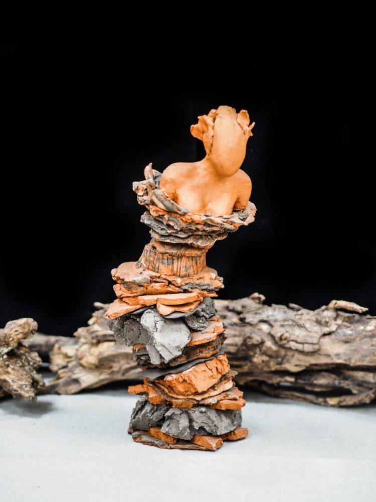 sculpture en terre - Atelier Mallaval - Agde