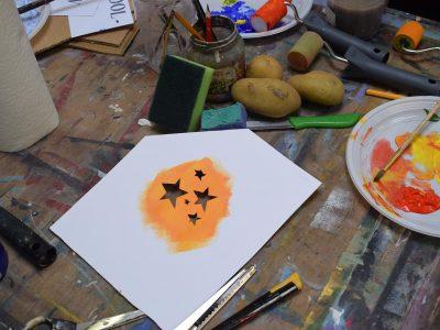 gezamenlijk schilderij