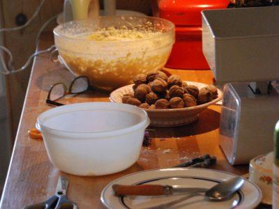 kokkin aan t werk