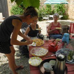 welkom met franse taart