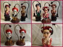 Abajour Frida e Rainha de Copas