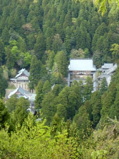 永平寺の全景