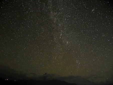 ヒマラヤの夜空