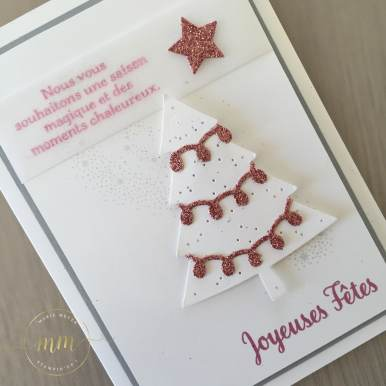 Cartes de Noël Thinlits Couture Festive, Etoiles brillantes et Sapins Parfaits par Marie Meyer Stampin up - http://ateliers-scrapbooking.fr/ - Festive Stitching Thinlits - Perfect Pines Thinlits - Starlight Thinlits - Weinhachtstickerei Thinlits Formen - Tannentraum Thinlits Formen - Sternenzauber Thinlits Formen