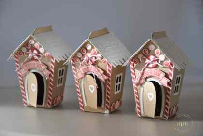 Maisonnettes Thinlits doux foyers de Noël par Marie Meyer Stampin up - http://ateliers-scrapbooking.fr/ - Home swett home Thinlits dies - Zu Hause Thinlits Formen