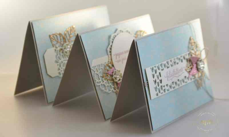Stampin up - Carte félicitation de mariage -Thinlits En details - Thinlits So Detaled - Thinlits Liebe zum Detail