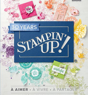 Nouveau catalogue annuel Stampin up 2018 2019