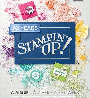 Nouveau catalogue annuel Stampin up 2018 2019