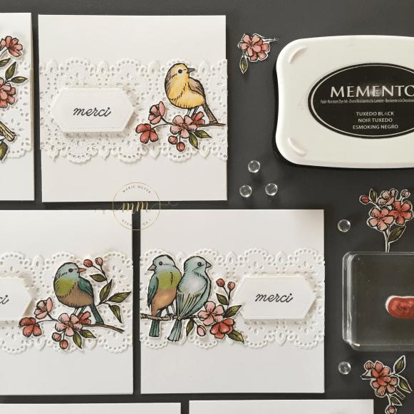 Cartes de remerciements Ballade des Oiseaux 2019 10