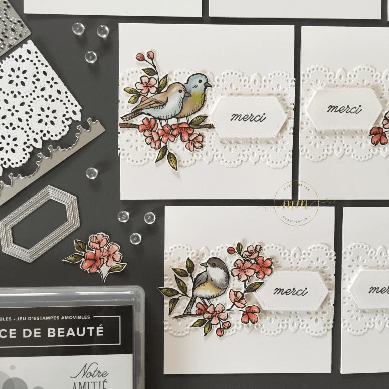 Cartes de remerciements Ballade des Oiseaux 2019 11