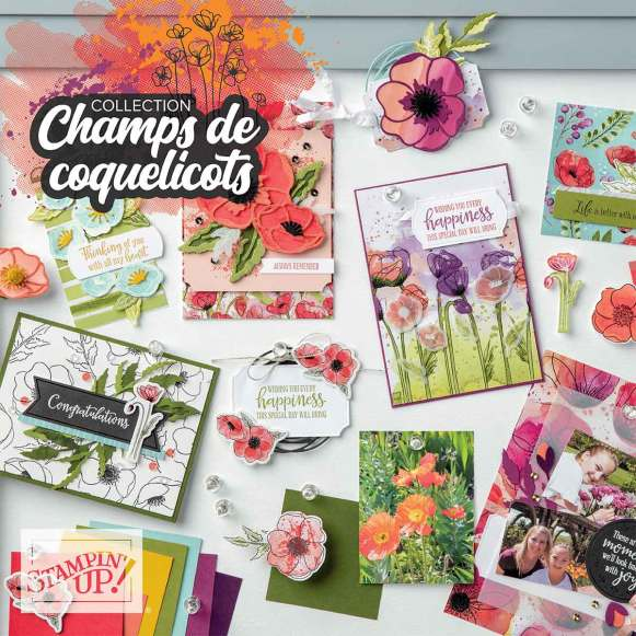 Collection Champs de coquelicots