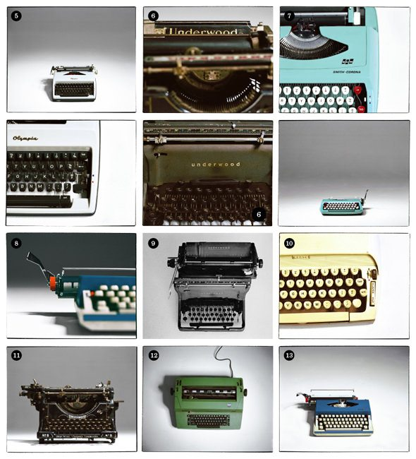 26 typewriters exhibition 3