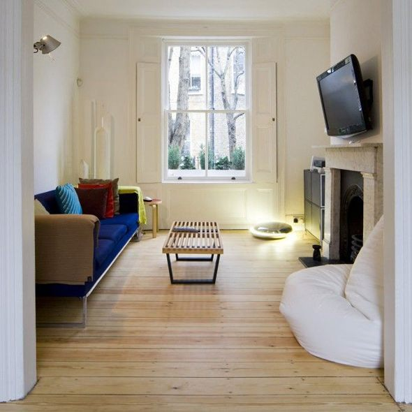 VW+BS Islington House living room TV room ideas