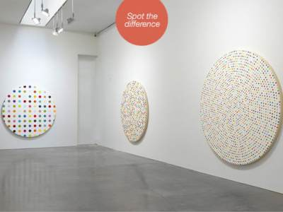 Damien Hirst, The Complete Spot Paintings 1986–2011