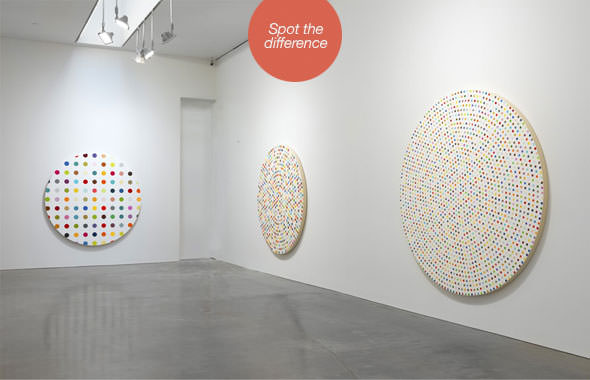 damien hirst spot paintings 1