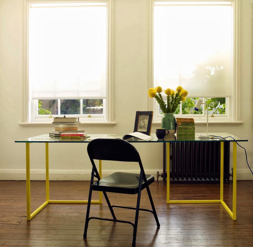 habitat macadam folding metal chair office 001