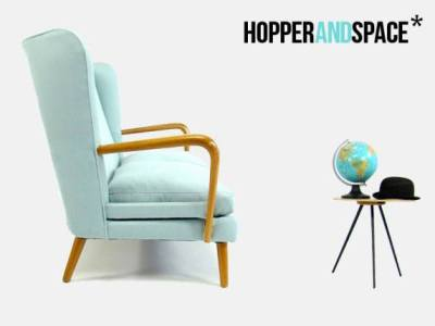 Mid-Century love-in with Hopper and Space