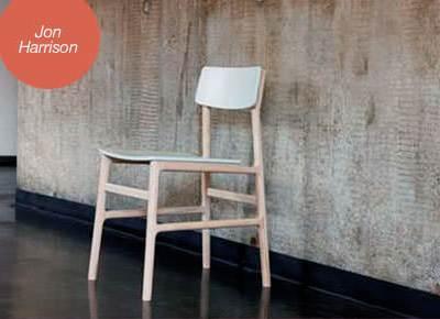 Jon Harrison's ash kitchen chair