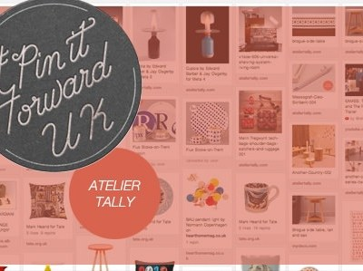 Follow ATELIER TALLY on Pinterest #pinitforwarduk