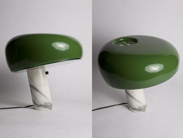 snoopy-flos-Castiglioni-green-vintage